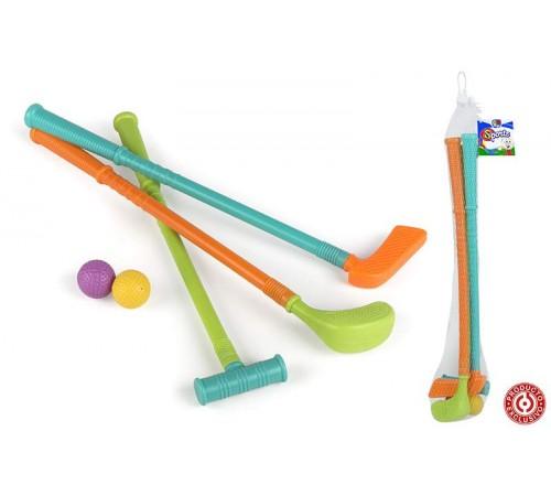 color baby 37307 Набор клюшек для гольфа 3шт. 45см