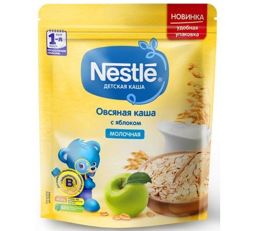 nestle Каша молочная овсяная с яблоком 220 гр. (5 м +) 12382857