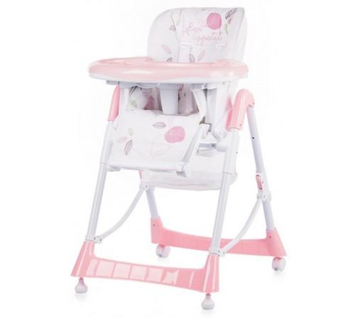 chipolino стул для кормления comfort plus sthc01703pi роз