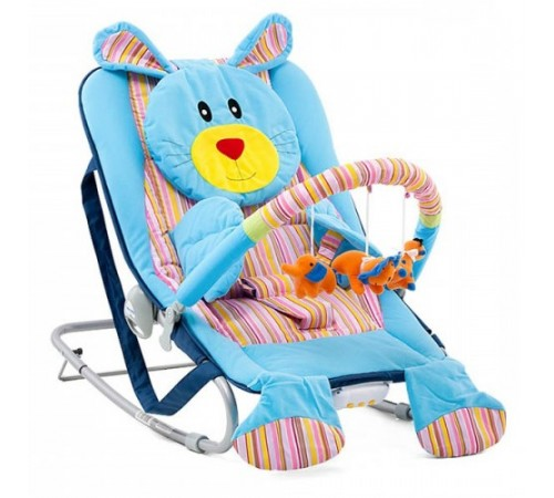 Mobila pentru camera copiilor de vanzare in Chisinau-Baby-Boom.md  in Moldova chipolino balansoar muzical she01402bun bunny