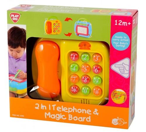 """Детскиймагазин в Кишиневе в Молдове playgo 2190 Музыкальная игрушка 2-в-1 """"Телефон"""""""