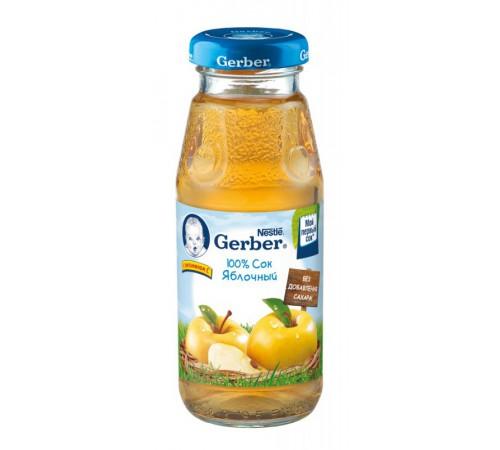 Детское питание в Молдове gerber сок яблочный 175мл.(4+)