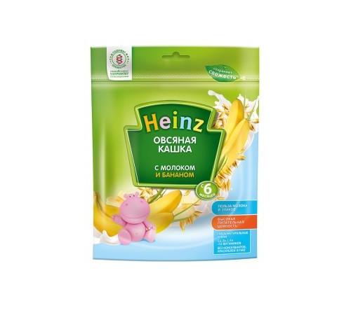 heinz Овсяная кашка с молоком и бананом (6m+)