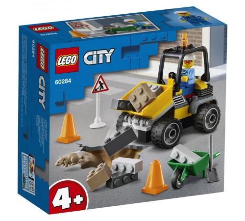 """lego city 60284 Конструктор """"Автомобиль для дорожных работ"""" (58 дет.)"""