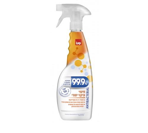 """sano """"99.9% antibacterial spray"""" Антибактериальное средство для тщательной уборки (750 мл.) 425127"""