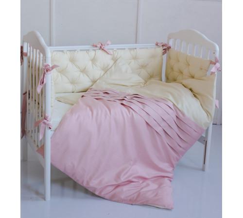 """special baby mca101 lenjerie de pat """"carol"""" pudra (6 unități)"""