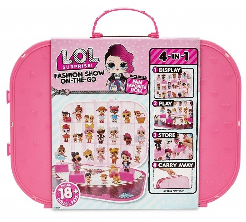 "Jucării pentru Copii - Magazin Online de Jucării ieftine in Chisinau Baby-Boom in Moldova l.o.l. 643481 (562696) set de joc cu papusa ""surprise! fashion show on-the-go"""