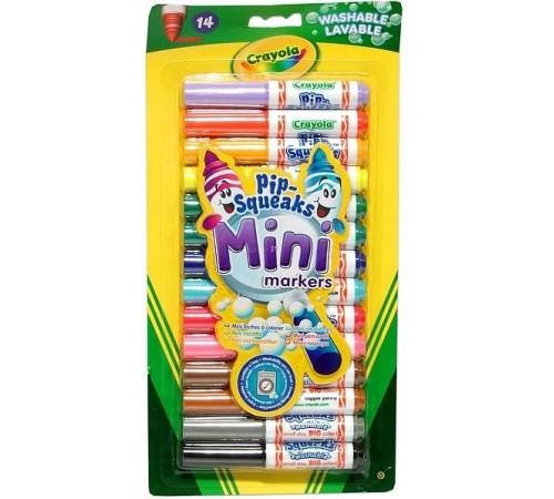 Детскиймагазин в Кишиневе в Молдове crayola 8343 Мини фломастеры смываемые (14 шт.)