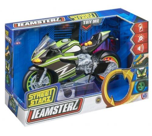 teamsterz 1416880 Мотоцикл street starz со звуковыми эффектами