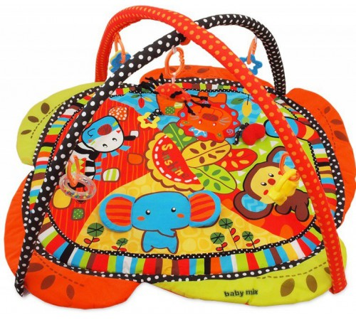 "baby mix tk/3329cn covoras educativ de joaca ""safari"""