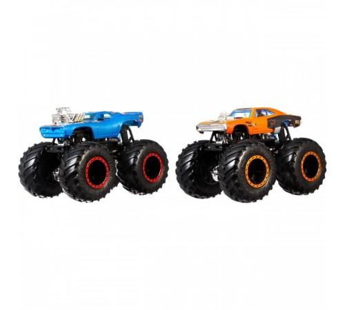 "hot wheels fyj64 Набор из 2 машинок серии ""monster trucks"" в асс."