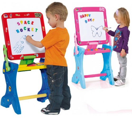Детскиймагазин в Кишиневе в Молдове molto 11073 Доска для рисования магнитная 3-в-1 (30 ед.)
