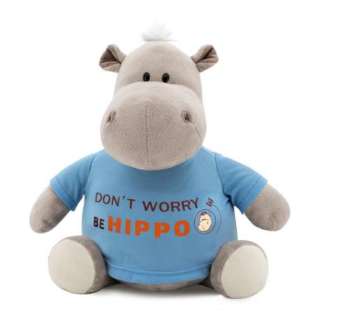 """Детскиймагазин в Кишиневе в Молдове orange toys  Бегемот """"be hippo"""" 15см ms6207/15"""