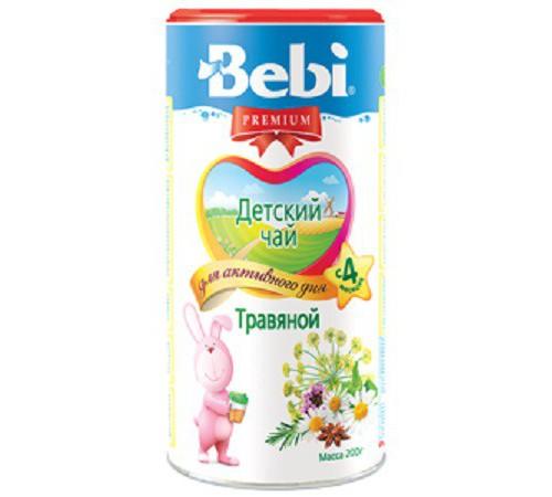 Детское питание в Молдове bebi Травяной детский чай (4m+) 200 гр.