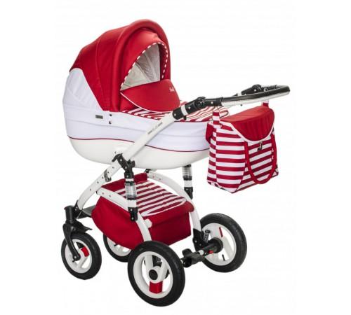 Детские коляски в Молдове wiejar Коляска 2в1 evado 01 красно-белая