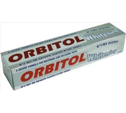 orbitol Зубная паста отбеливающая 145г 423543