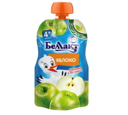 Детское питание в Молдове Беллакт Пюре из яблок 90 гр. (4 м. +)