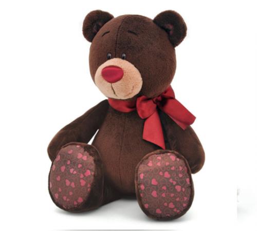 "Jucării pentru Copii - Magazin Online de Jucării in Chisinau Baby-Boom in Moldova colectie de ursi ""choco&milk""  ursulet cu arc 20см c004/20"