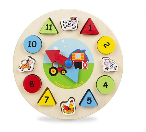 """Jucării pentru Copii - Magazin Online de Jucării in Chisinau Baby-Boom in Moldova color baby 42141 jucarie din lemn """"ciasuri"""""""