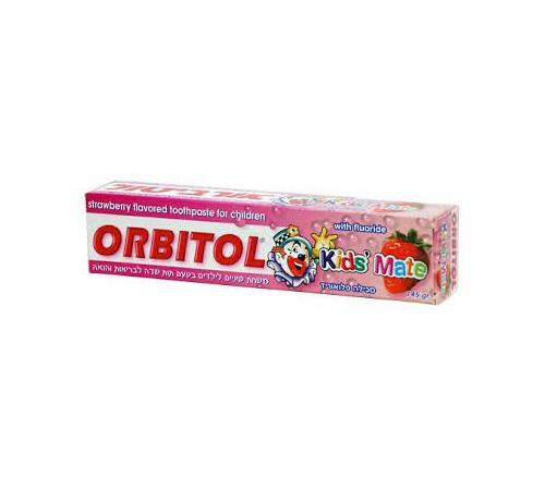 orbitol pasta de dinti pentru copii cu aromă de căpșuni (145 g) 289595