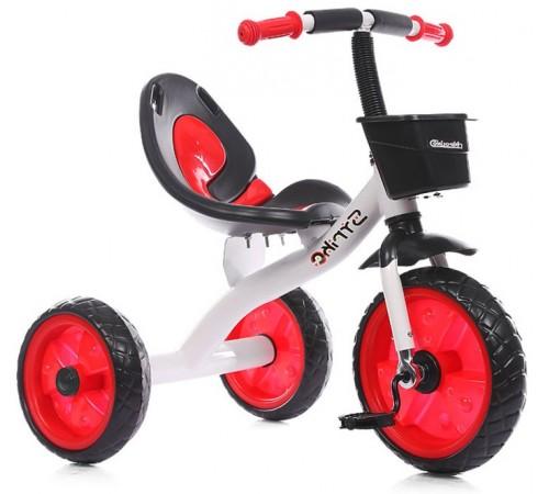 chipolino Трёхколёсный велосипед strike trksk0203re красный
