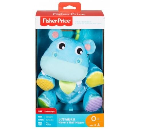 """fisher-price gfc35 Мягкая игрушка-подвеска """"Бегемотик-мячик"""""""