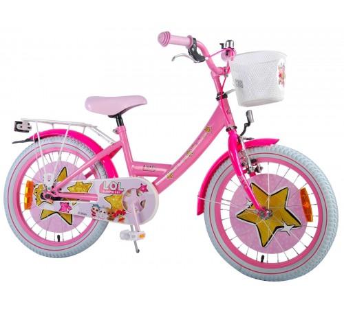"""volare 81835 Велосипед """"l.o.l  surprise 18"""" розовый"""