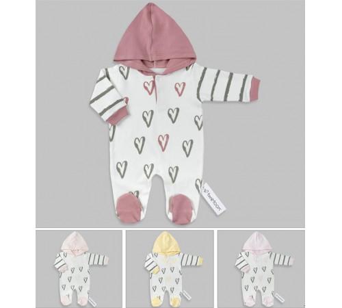 Одежда для малышей в Молдове twetoon 113635 Комбинезон (р. 56-62-68) в асс.