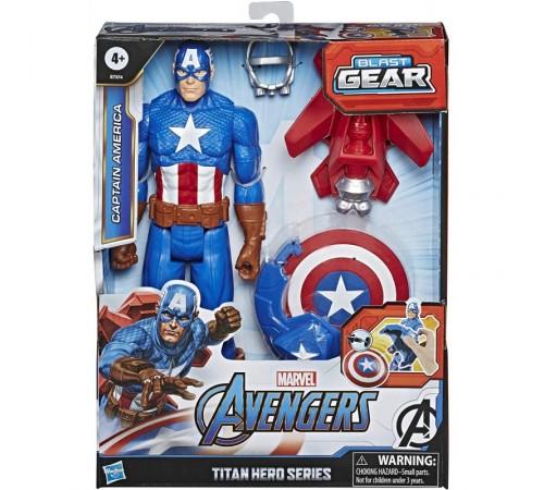 """avengers e7374 Фигурка """"Капитан Америка"""" с аксессуарами"""