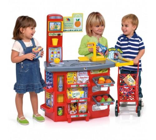 """Детскиймагазин в Кишиневе в Молдове molto 12186 Игровой набор """"Супермаркет с тележкой"""" (103 см.)"""