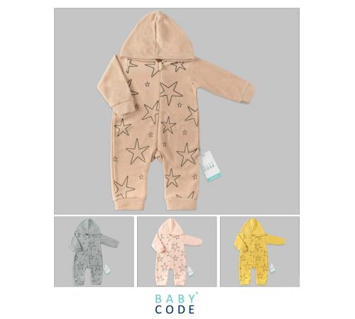 """Одежда для малышей в Молдове baby code 347015 Комбинезон """"stars"""" (62-68-74 см.) в асс."""
