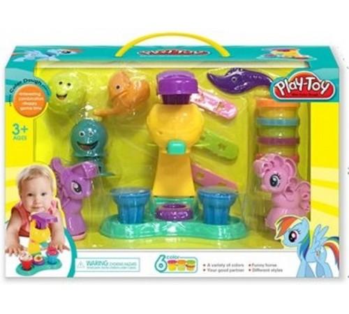 """op РЕ04.136 set de plastilina """"play-toy"""""""