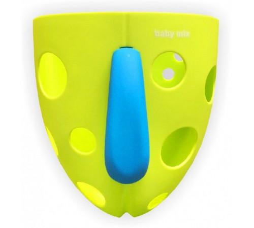 baby mix yu/bh-708 Ёмкость для купальных игрушек зеленая