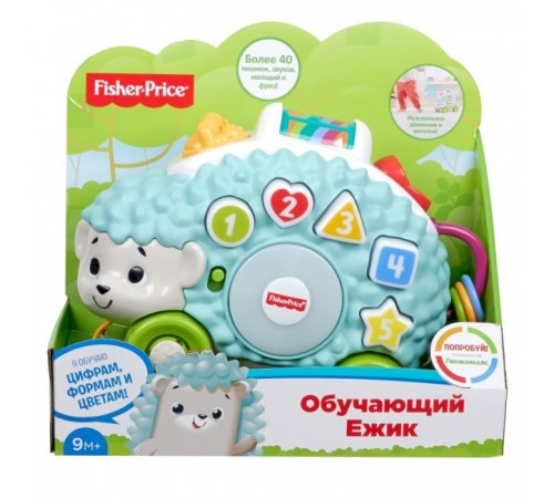 "fisher-price gjb14 jucarie de tras ""ariciul educațional"" seria linkimals (ru)"