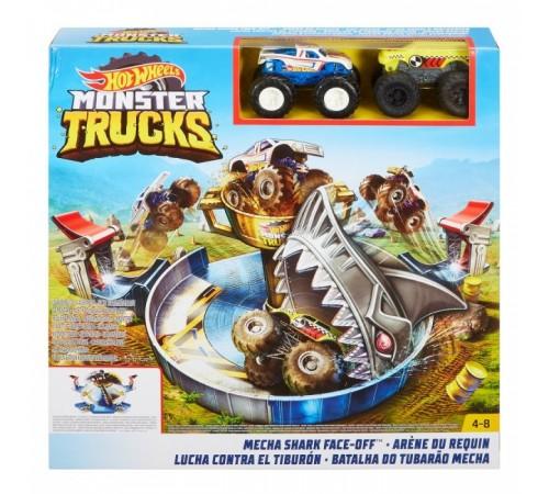 "hot wheels fyk14 Набор ""Опасное противостояние"" серии ""monster trucks"""