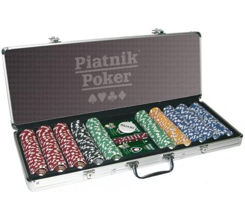 piatnik 7904 Набор для игры в  покер (500 фишек)