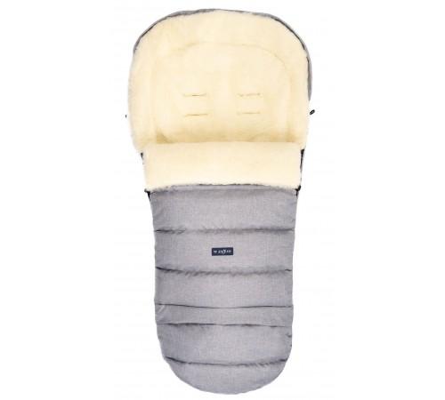womar zaffiro sac de dormit igrow wool melange gri deschis