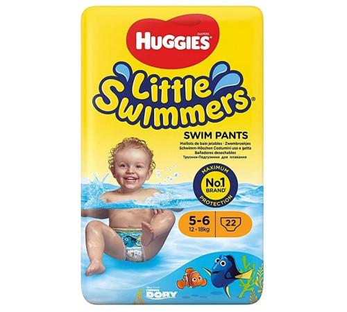 huggies little swimmers chiloței de înot 5-6 (12-18 kg.) 11 buc.