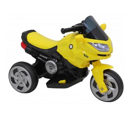 baby mix oc-h0008707 yellow Мотоцикл на аккумуляторе жёлтый