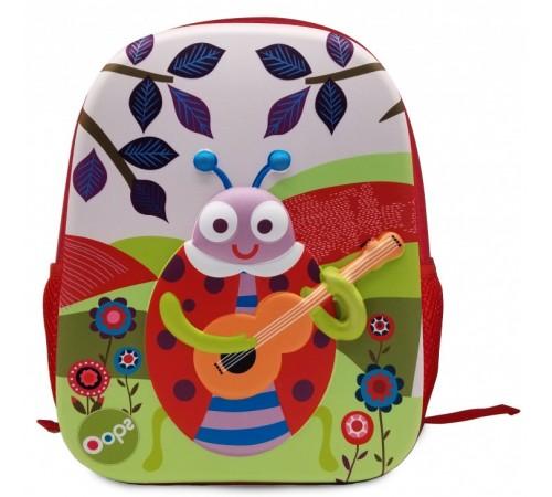 """Одежда для малышей в Молдове oops 30014.33 Детский рюкзак 3d """"Божья Коровка"""""""
