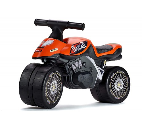 "falk 406d Беговел ""moto dakar"" оранжевый"