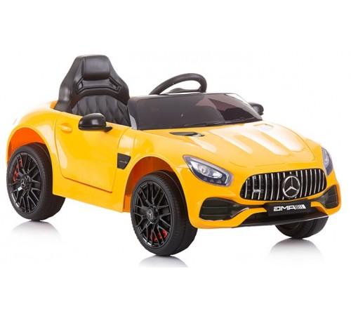 chipolino mașină cu baterie elkmbamggt05 mercedes benz amg gt galben