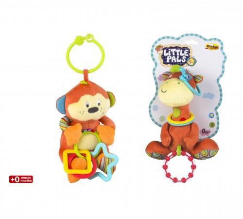 Игрушки в Молдове color baby 42559 Погремушка плюшевая Жираф/Мишка