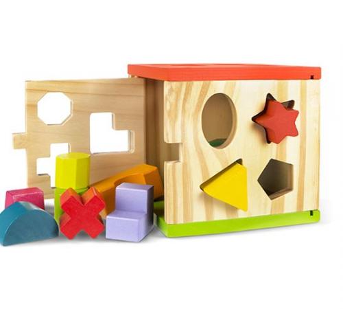 Детскиймагазин гусь-гусь в Кишиневе в Молдове cb 42139 Игрушка деревяная Куб play & learn