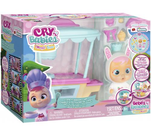 Детскиймагазин в Кишиневе в Молдове cry babies imc080867 Плачущая кукла coney с тележкой для сладостей