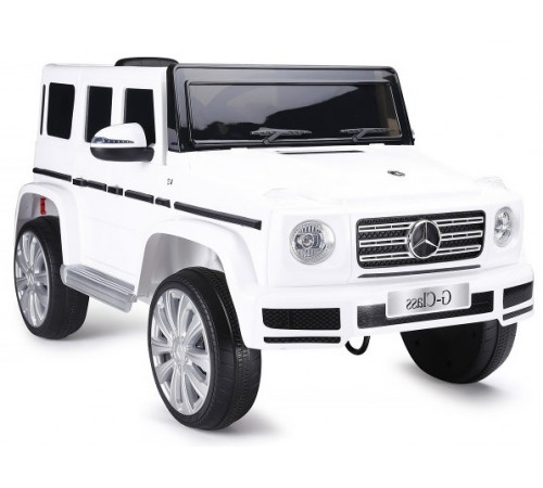 "chipolino Машина на аккумуляторе  ""suv mercedes g 500"" eljmg50021w белый"