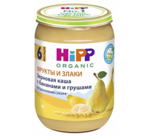 hipp 4830 Зерновая каша с бананами и грушами (6м+) 190 гр.