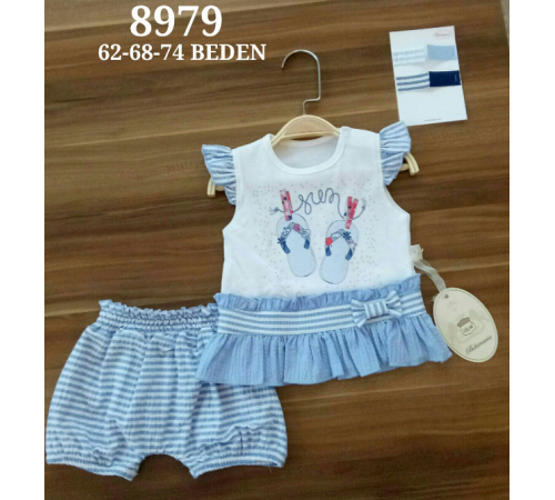 Одежда для малышей в Молдове bebemania 8979 Костюм для девочки