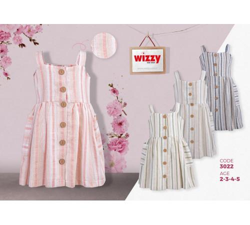 wizzy 3022 rochie (2-3-4-5 ani.) roz