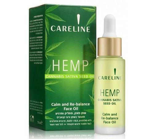 40.79 careline Питающие масло для лица hemp (30 мл.) 964824